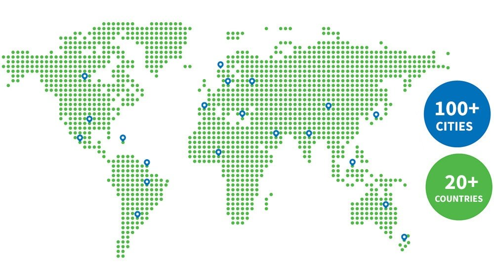 OUR GLOBAL CUSTOMERS
